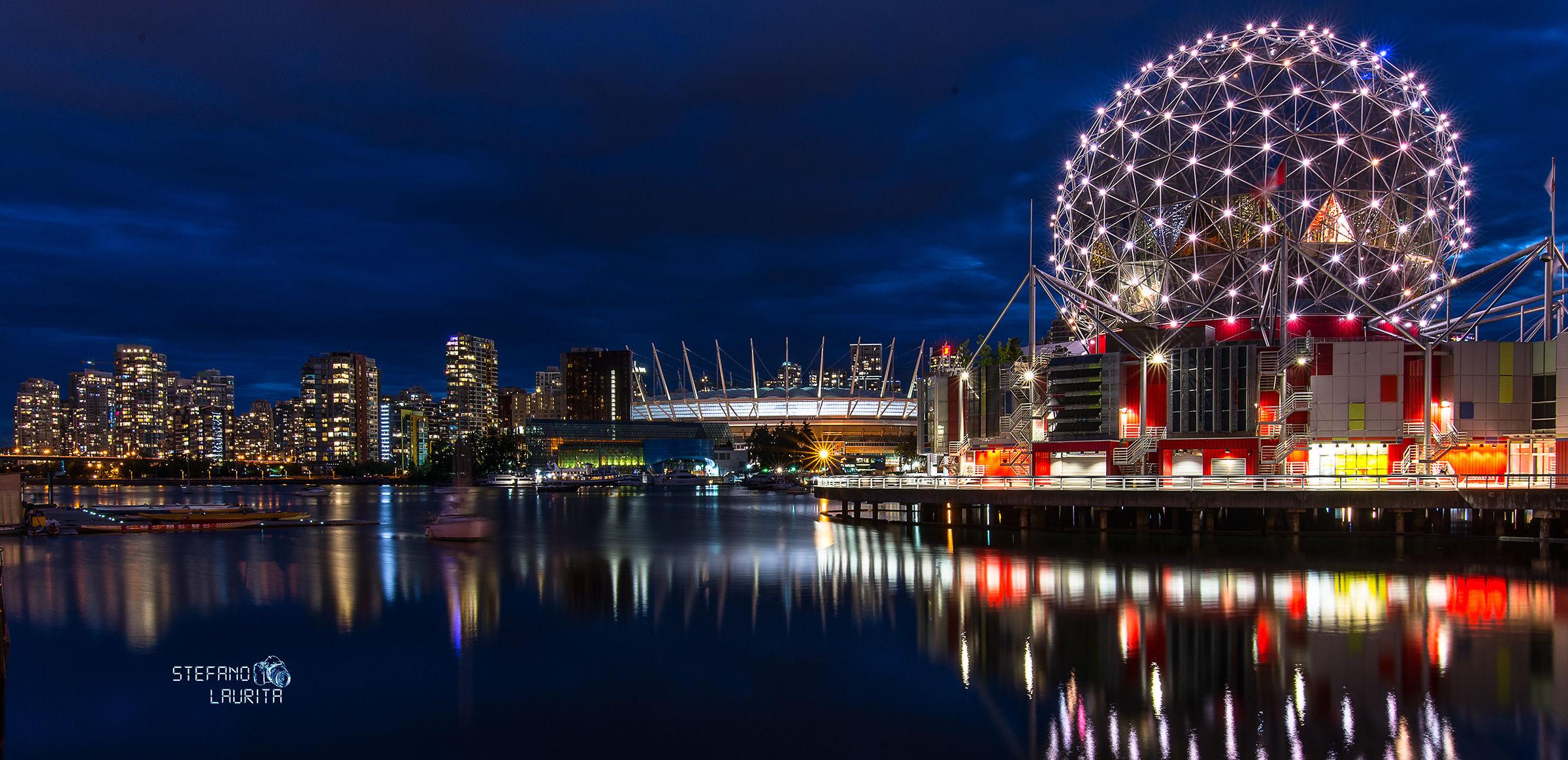 Vancouver skyline...