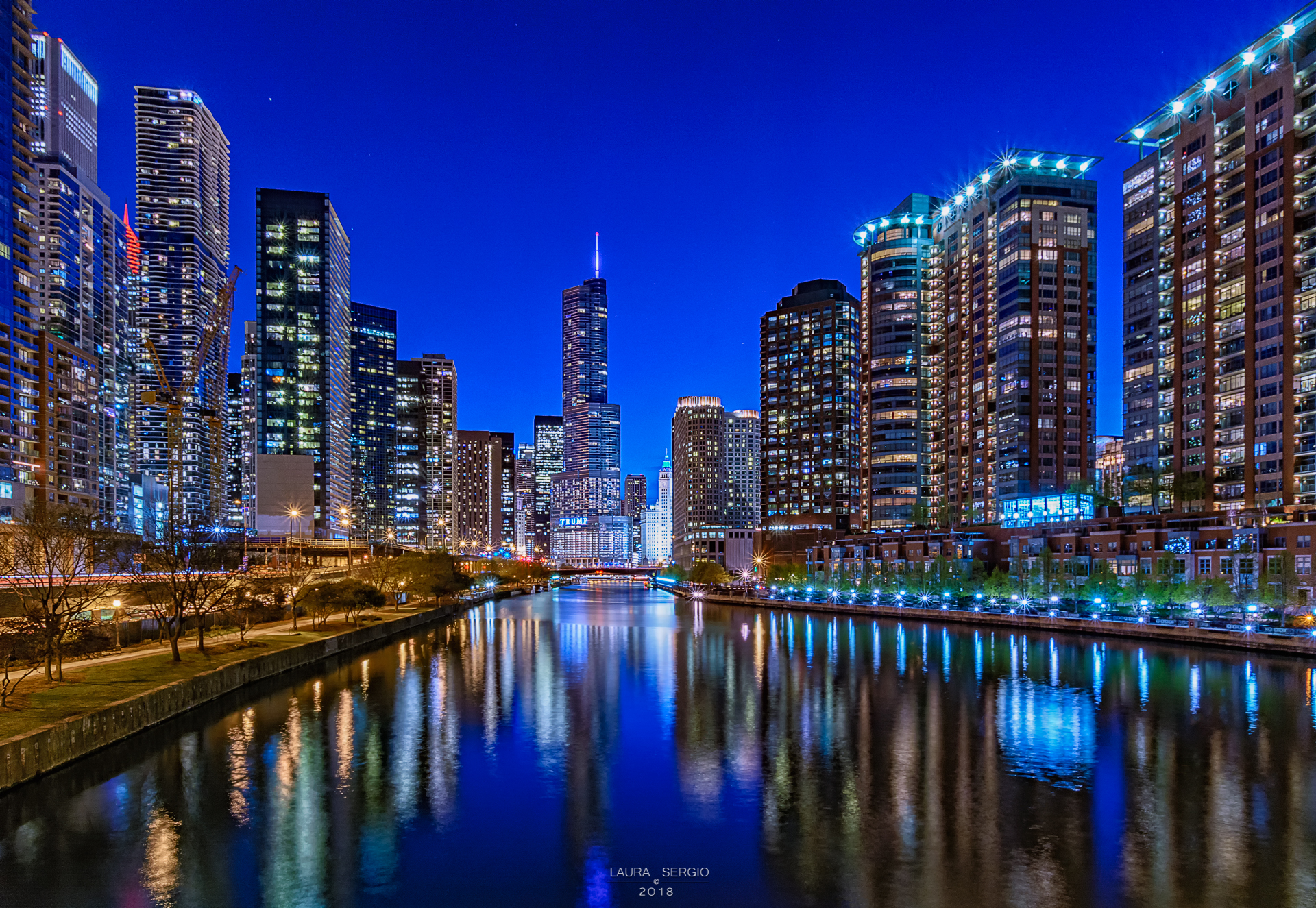 Chicago River Reflections...