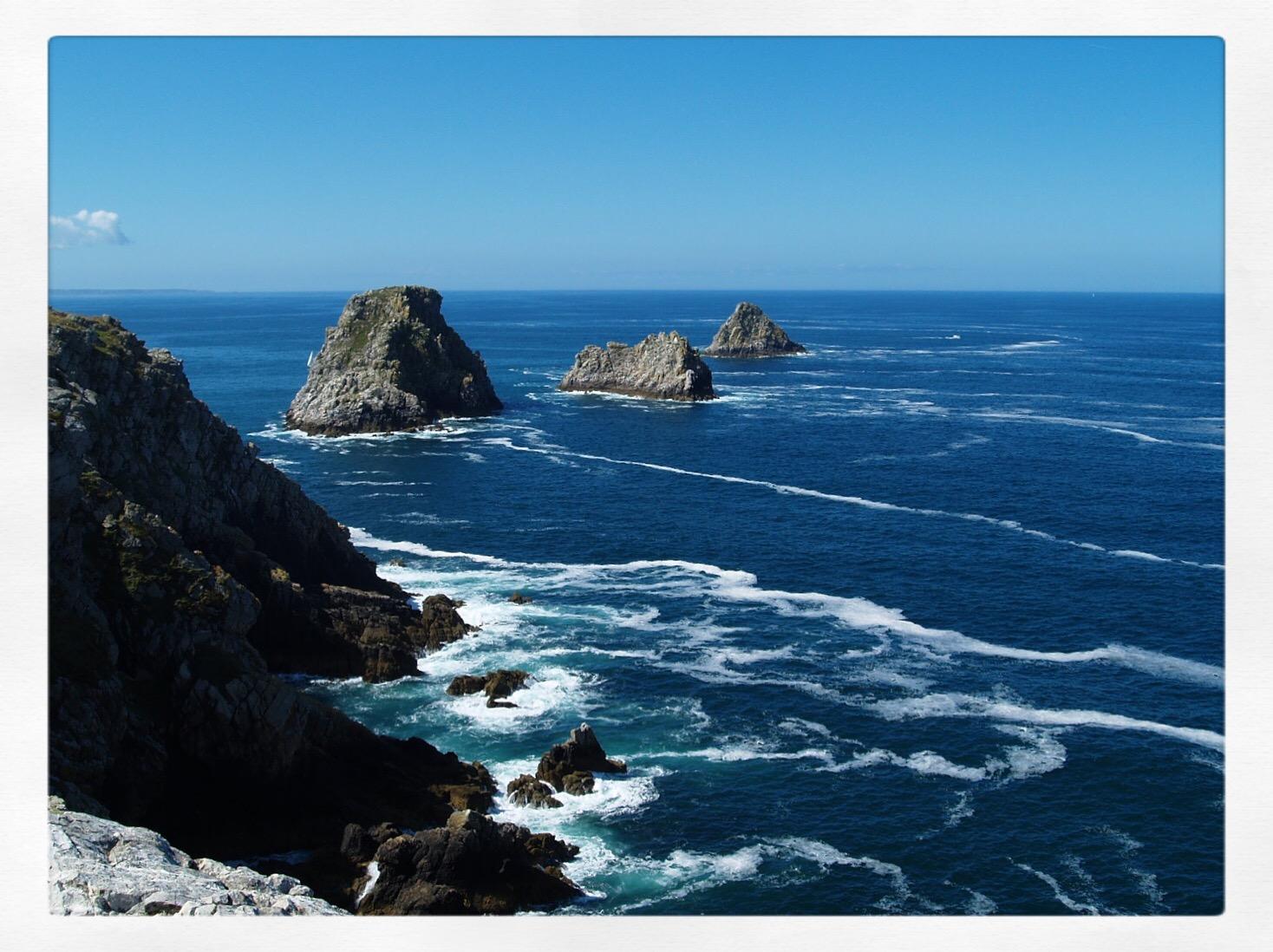 La roccia in mezzo al mare...
