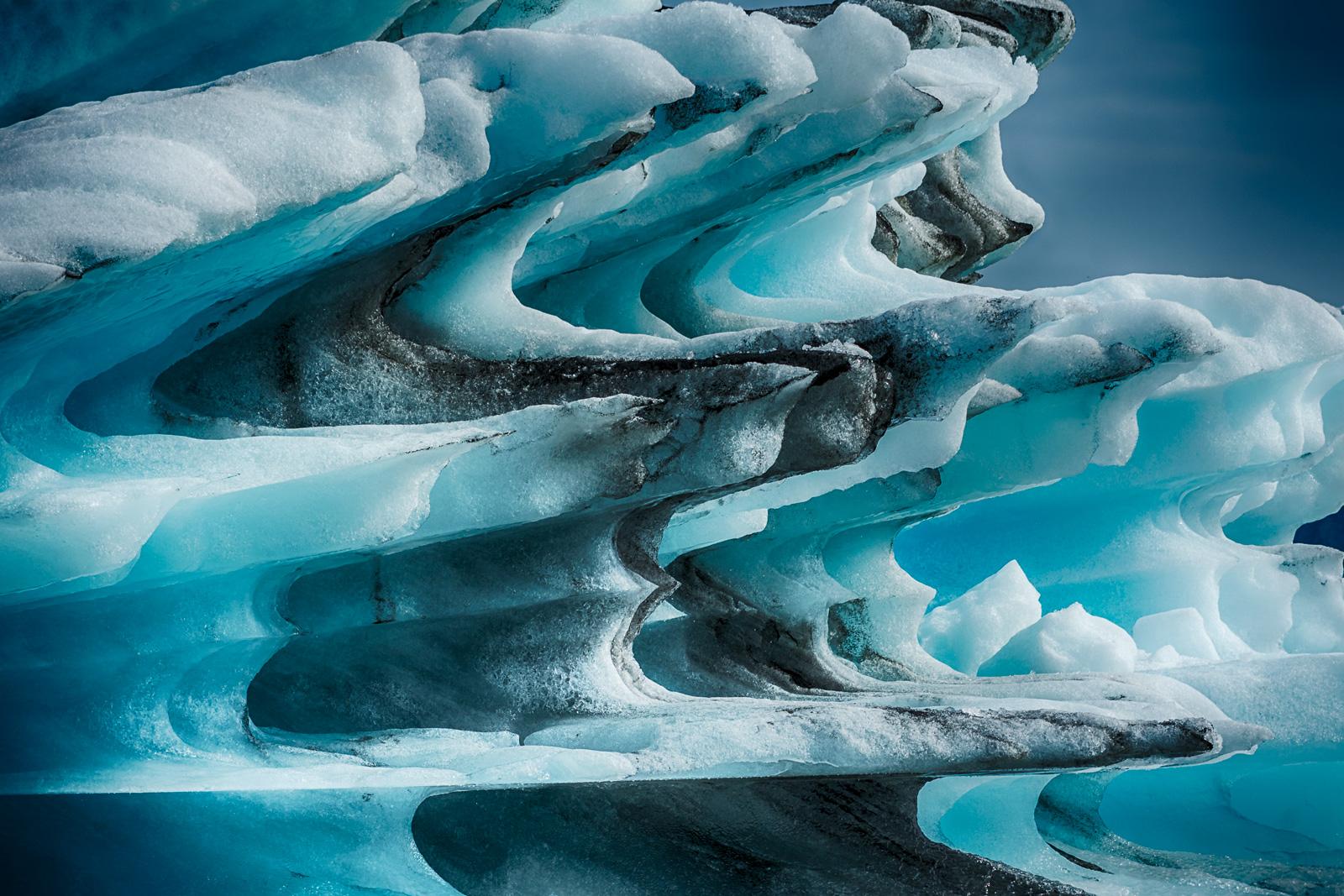 Jokulsarlon Glacier-Iceberg...