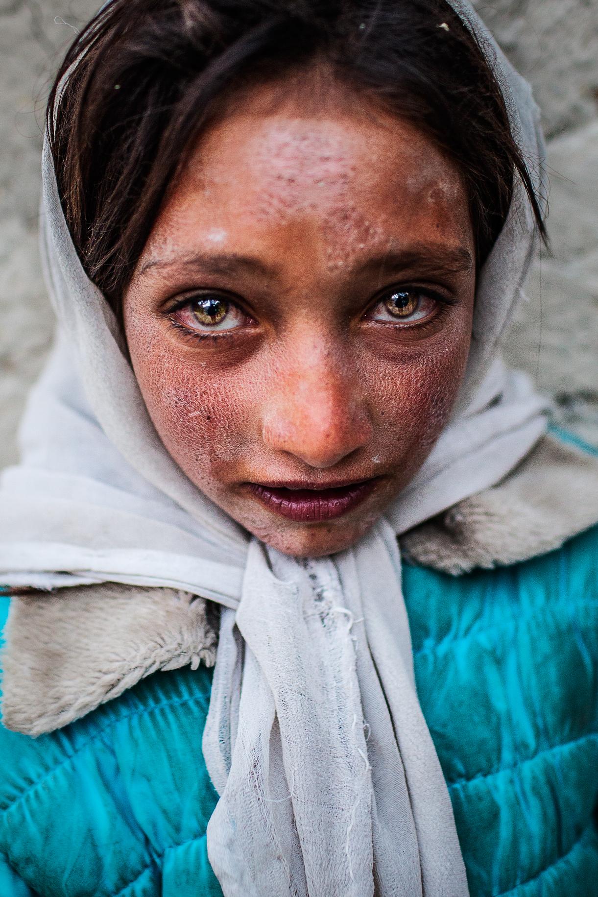 Bambina Wakhi, Wakhan corridor, Afghanistan...