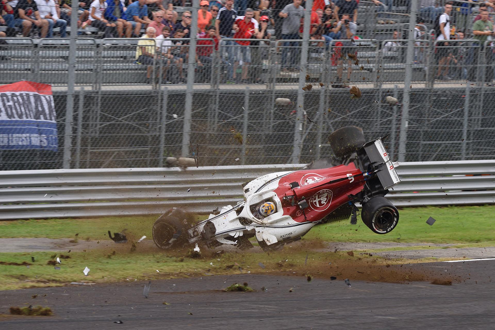 Ericsson crash...