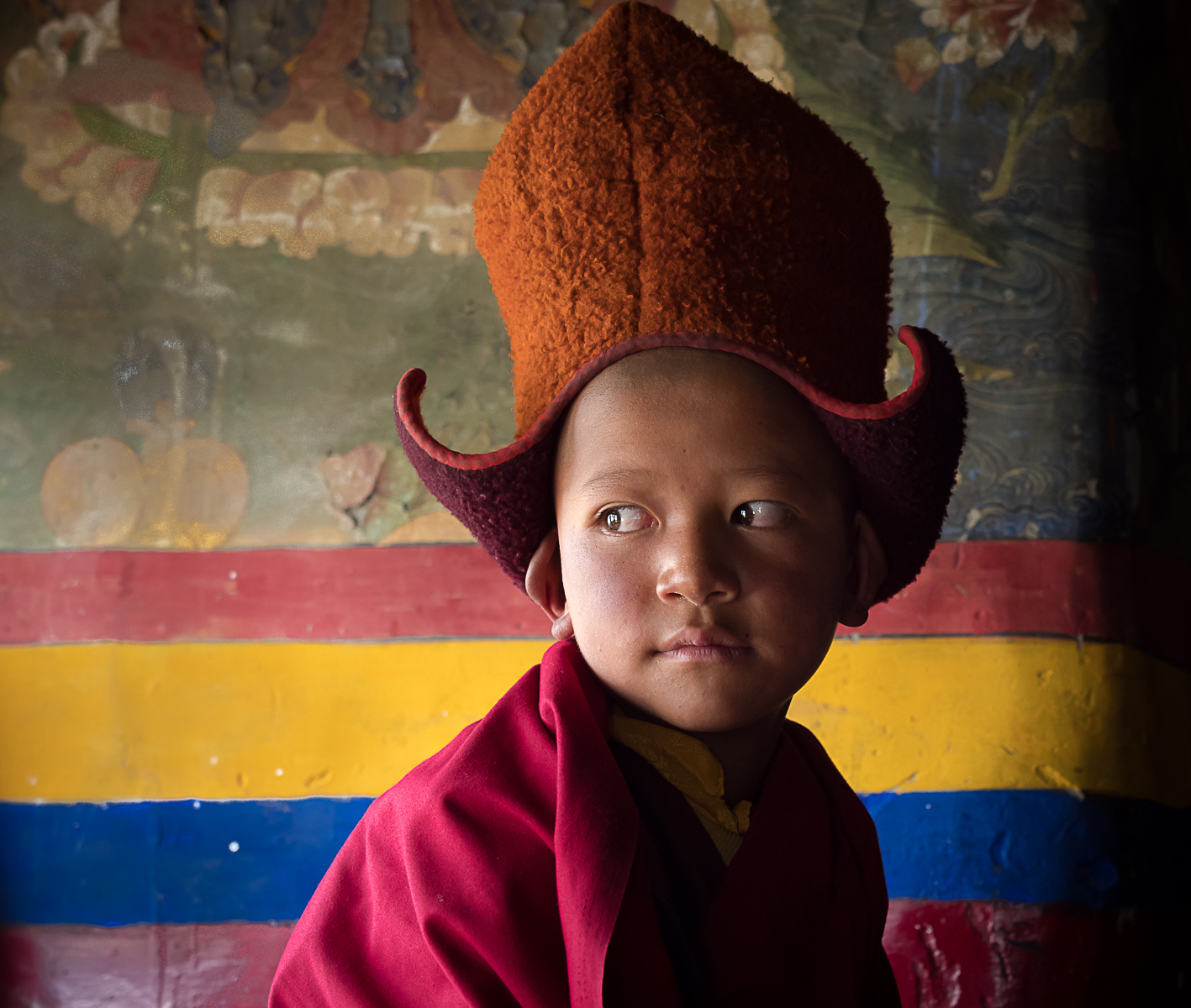 Little Monk...