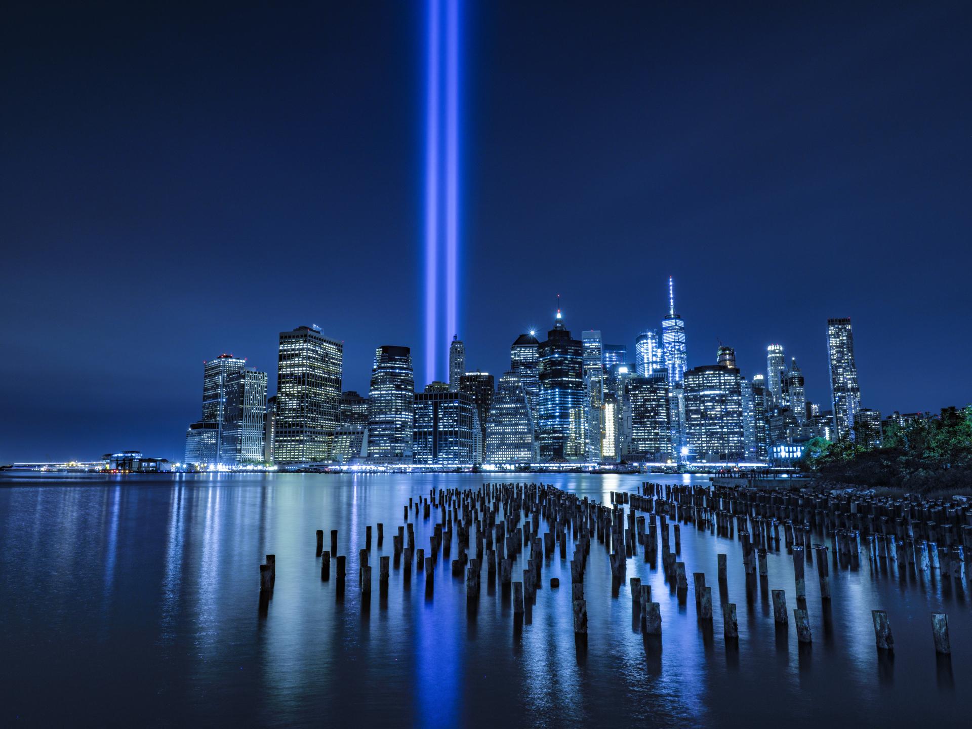 Memorial lights 11 settembre...