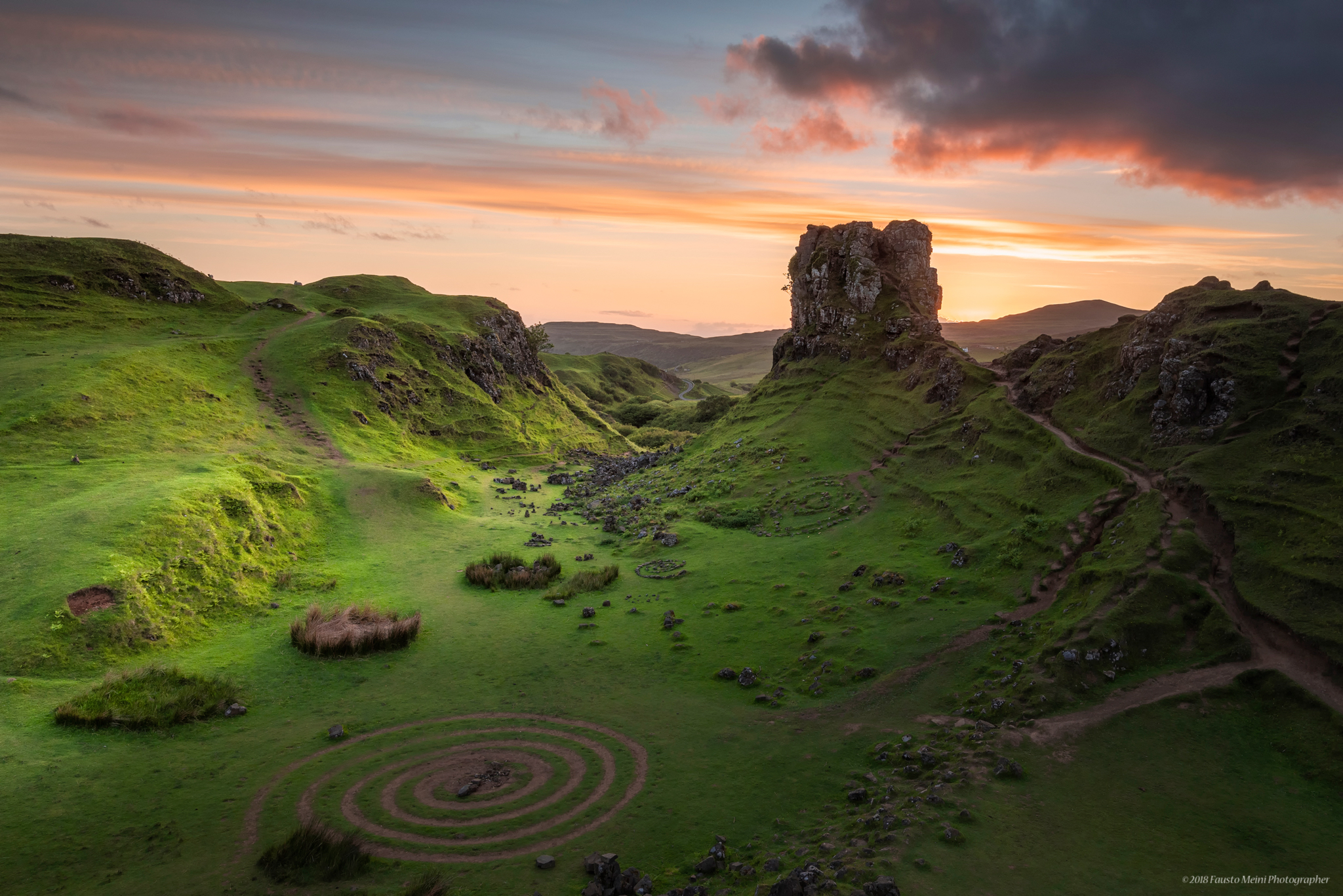 The magic of the Fairy Glen...