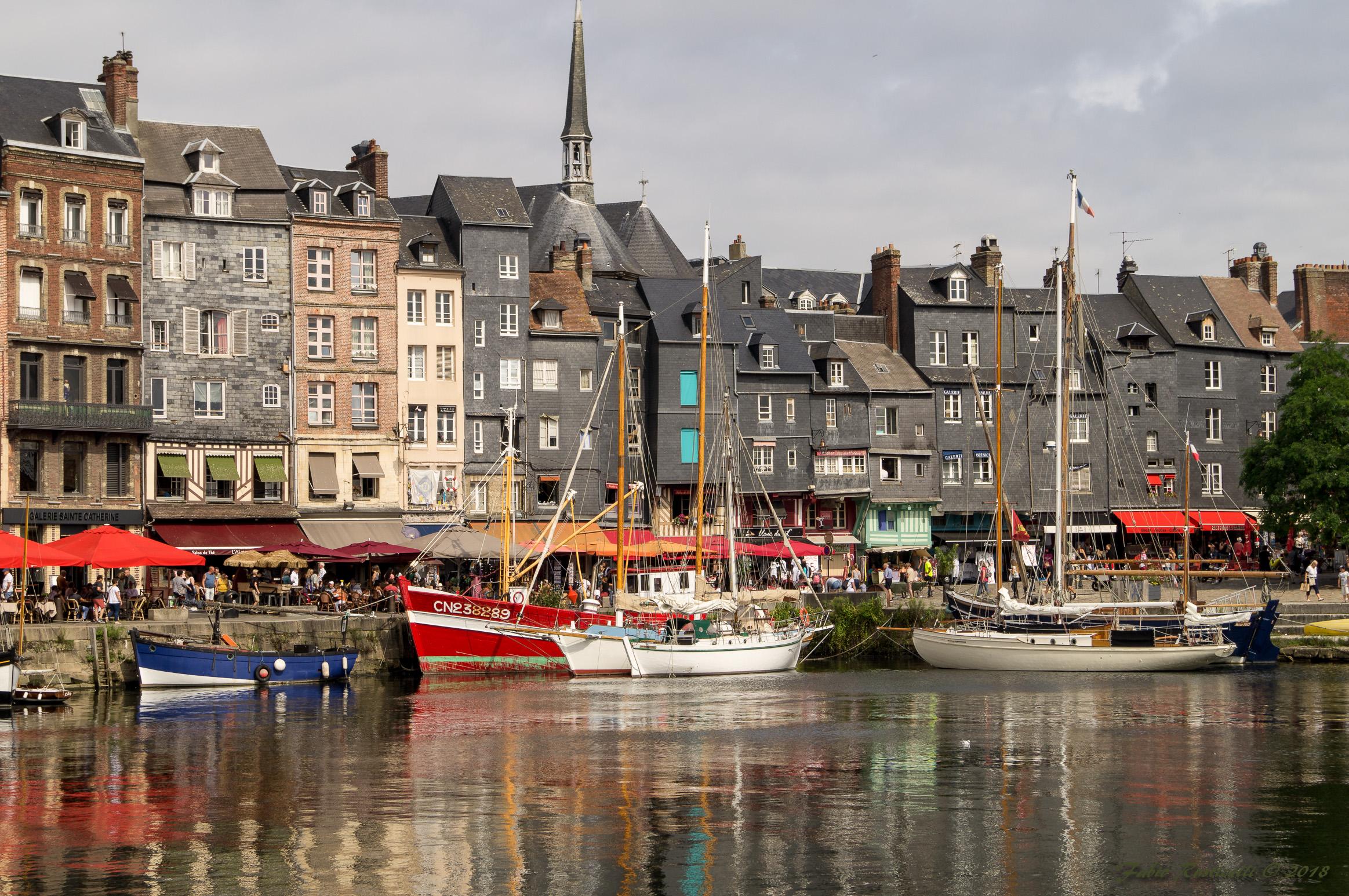 Honfleur, the Marina...