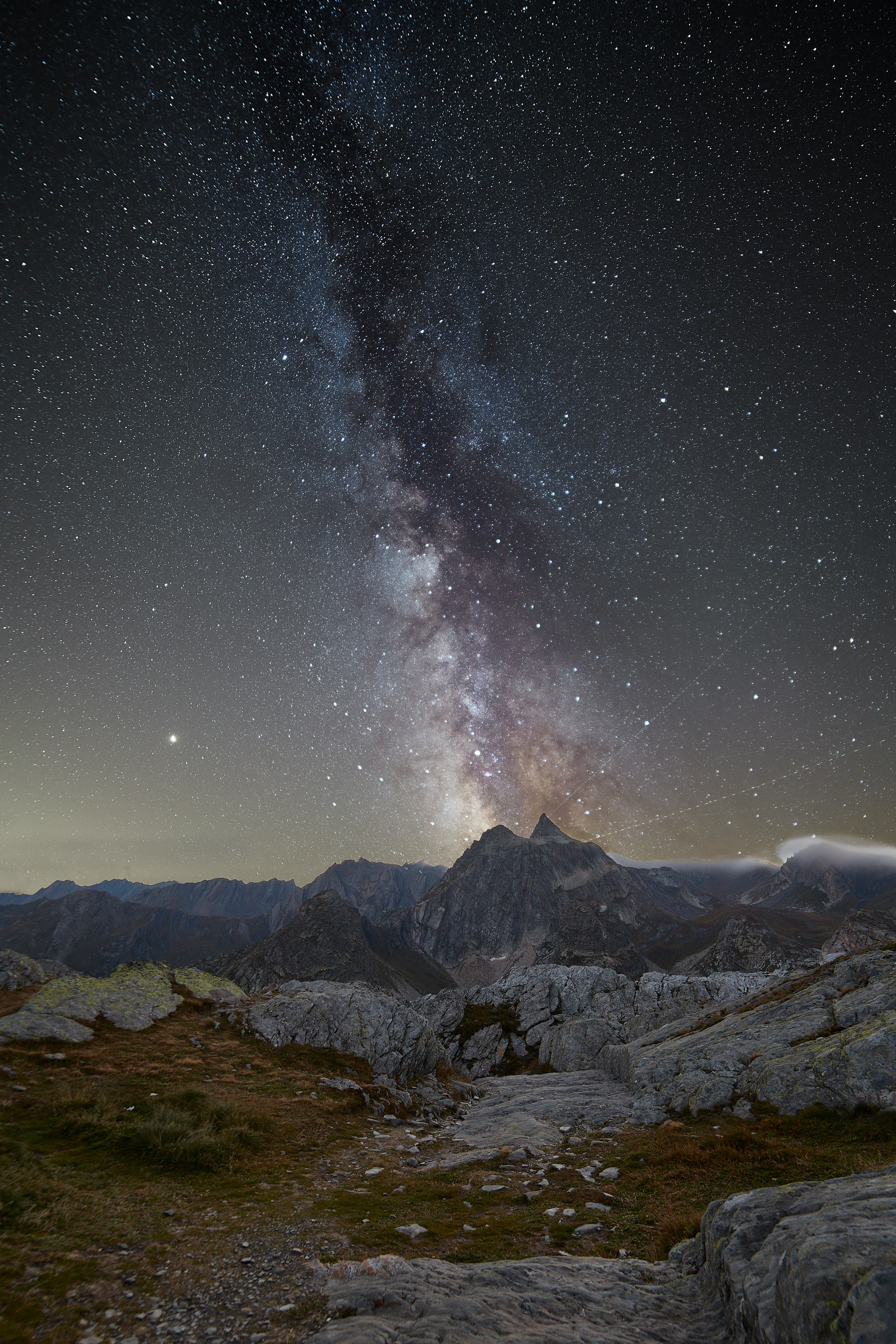 Milons of stars, millions of steps...