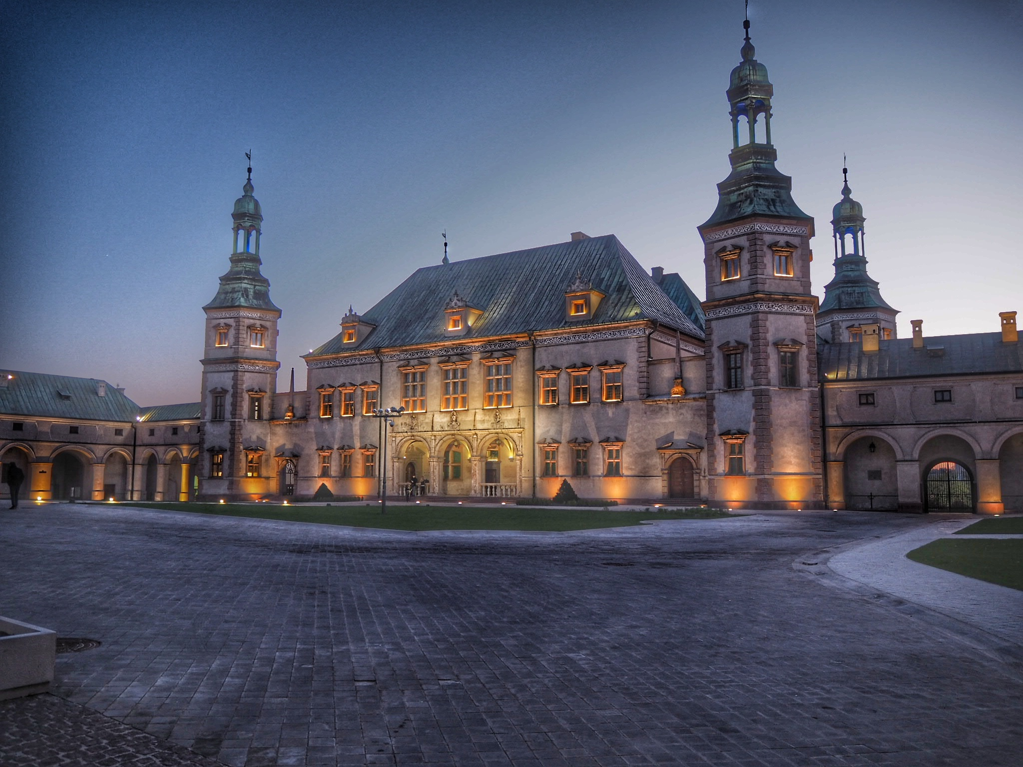 Palace of Cracow Bishops in Kielce...