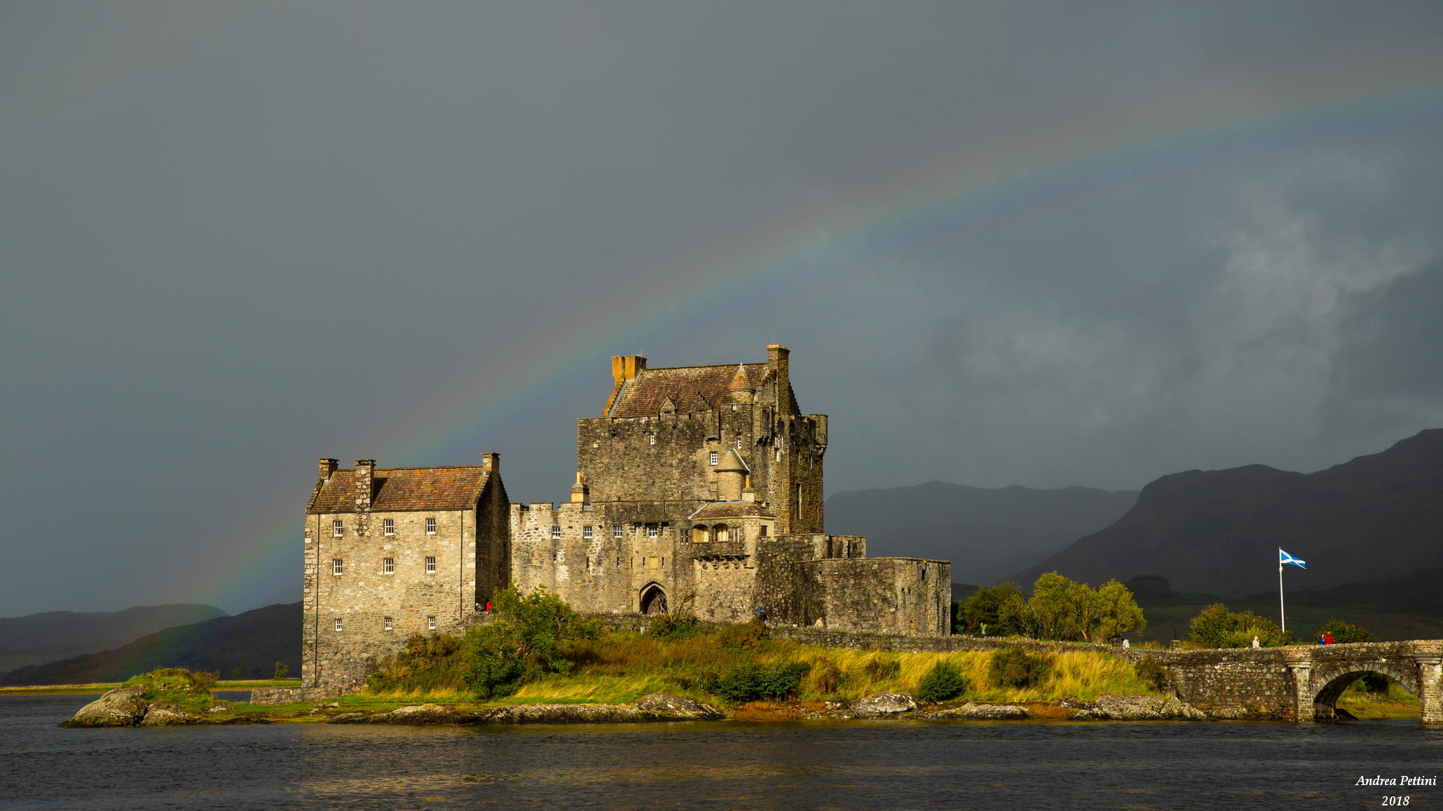 Eilean Donan Rainbow...