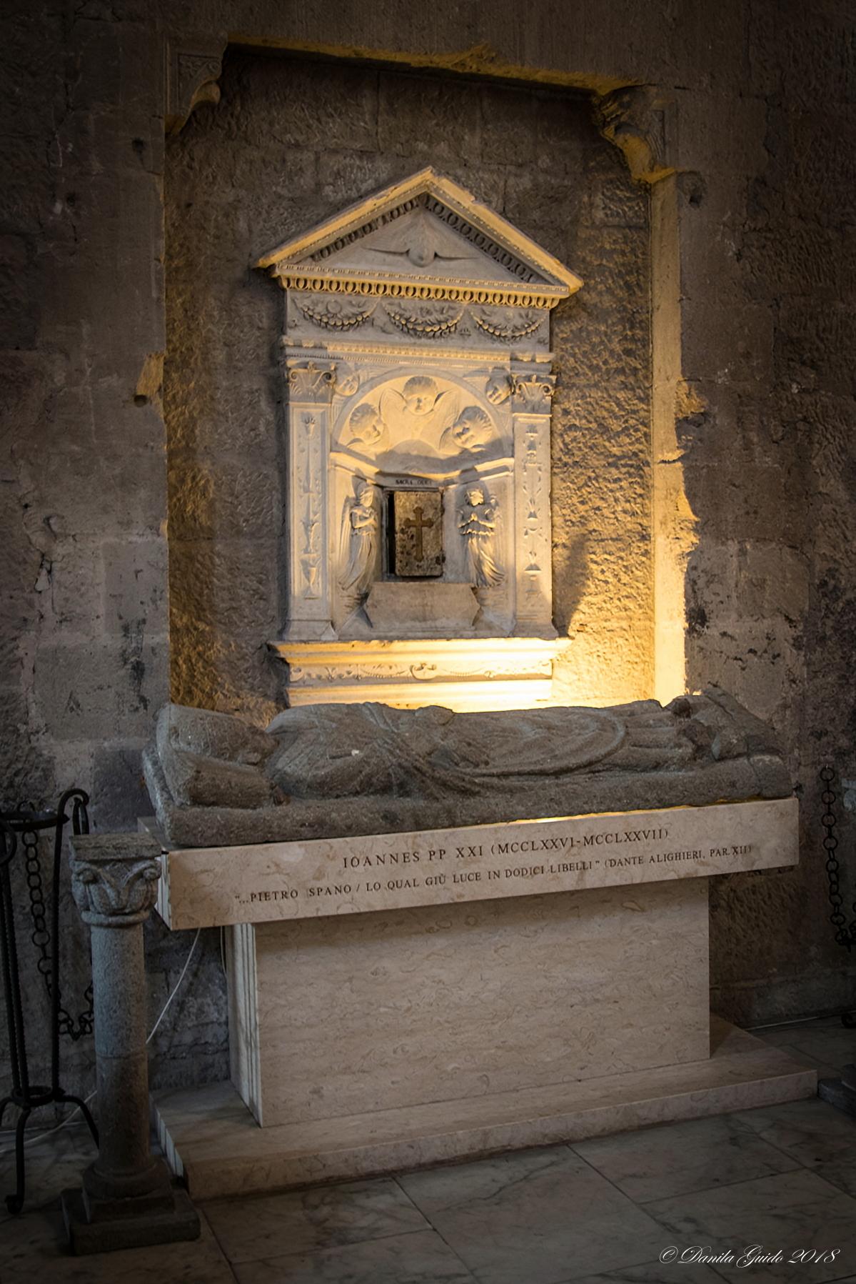 Honorary tomb of Pope John XXI ...