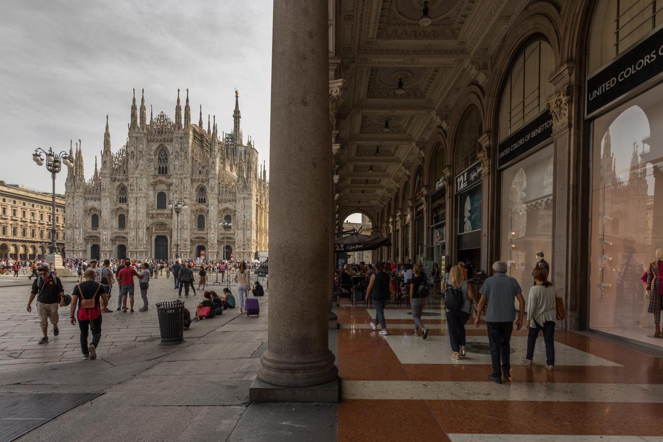 Piazza Duomo...