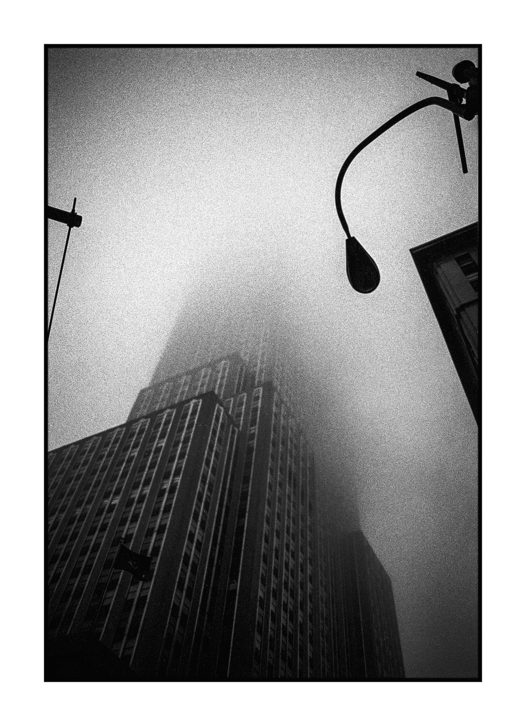 Fog in New York City...