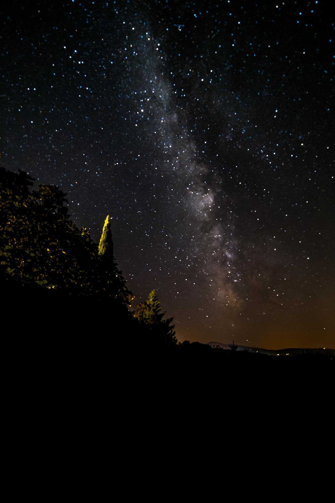 Milky Way Tuscany...